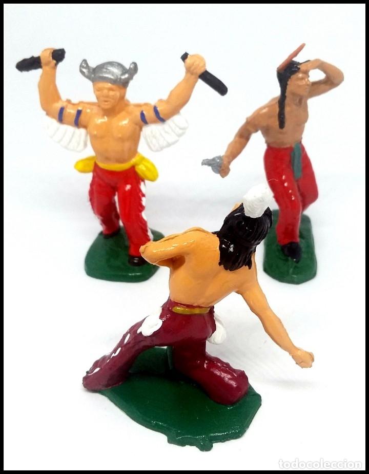 Figuras de Goma y PVC: LOTE INDIOS OESTE COMANSI JECSAN REAMSA CUSTOM MAS ACCESORIO - Foto 7 - 174466668