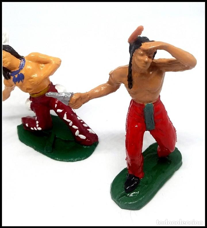 Figuras de Goma y PVC: LOTE INDIOS OESTE COMANSI JECSAN REAMSA CUSTOM MAS ACCESORIO - Foto 8 - 174466668