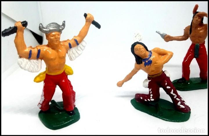 Figuras de Goma y PVC: LOTE INDIOS OESTE COMANSI JECSAN REAMSA CUSTOM MAS ACCESORIO - Foto 9 - 174466668