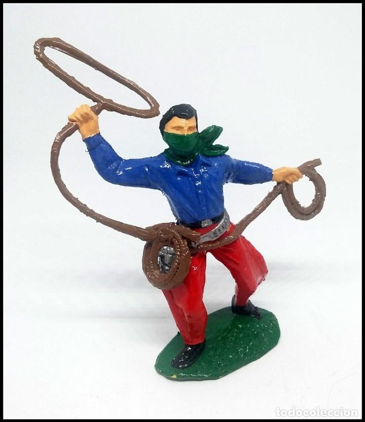 Figuras de Goma y PVC: VAQUERO OESTE COMANSI JECSAN REAMSA CUSTOM - Foto 3 - 174466739