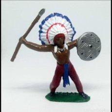 Figuras de Goma y PVC: INDIO OESTE COMANSI JECSAN REAMSA CUSTOM. Lote 174466783