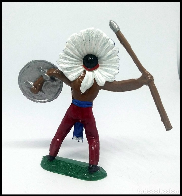 Figuras de Goma y PVC: INDIO OESTE COMANSI JECSAN REAMSA CUSTOM - Foto 2 - 174466783