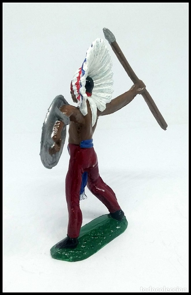 Figuras de Goma y PVC: INDIO OESTE COMANSI JECSAN REAMSA CUSTOM - Foto 3 - 174466783