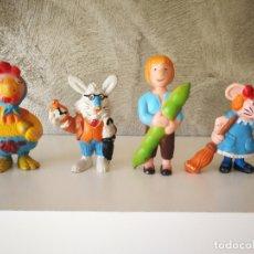 Figuras de Goma y PVC: LOTE FIGURAS JUPLAY CUENTOS INFANTILES . Lote 174486332