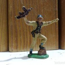 Figuras de Goma y PVC: FIGURA SOLDADO GUERRA MUNDIAL JECSAN PECH . Lote 174591080