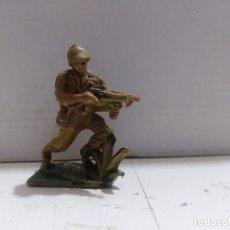 Figuras de Goma y PVC: FIGURA SOLDADO GUERRA MUNDIAL JECSAN PECH . Lote 174591885