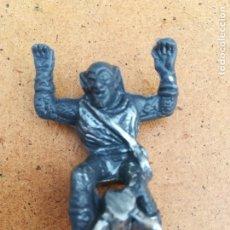 Figuras de Goma y PVC: FIGURA PLÁSTICO DUNKIN DUENDE VERDE MARVEL PHOSKITOS PANRICO. Lote 174689400