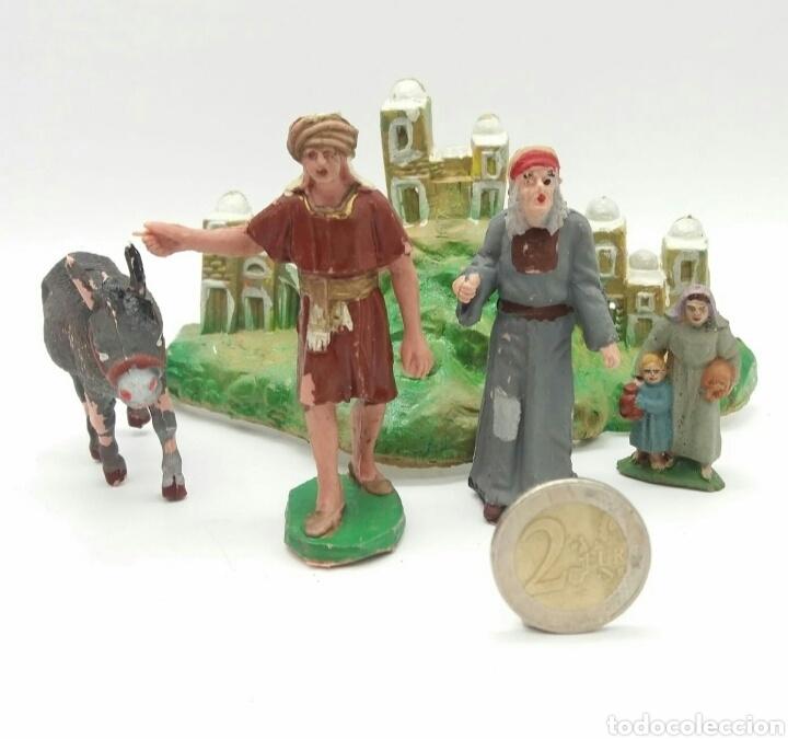 ESCENA BELÉN PESEBRE SOTORRES NUEVO A ESTRENAR - FIGURAS PINTADAS A MANO (Juguetes - Figuras de Goma y Pvc - Sotorres)