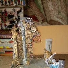 Figuras de Goma y PVC: DIORAMA CON FIGURAS DE REAMSA. COLECCIÓN CRUZADOS.. Lote 175085785