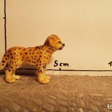 Figuras de Goma y PVC: LEOPARDO DE JUGUETE SCHLEICH. Lote 175123438