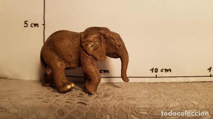 Figuras de Goma y PVC: Elefante de juguete Schleich - Foto 2 - 175123988