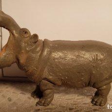 Figuras de Goma y PVC: HIPOPÓTAMO DE JUGUETE SCHLEICH. Lote 175126332