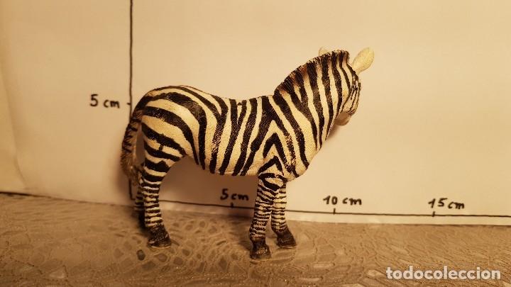 Figuras de Goma y PVC: Cebra de juguete Schleich - Foto 2 - 175126495