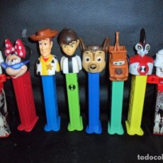 Dispensador Pez: DISPENSADOR PEZ COLECCIÓN LOTE DE 10 DISPENSADORES -. Lote 175130404