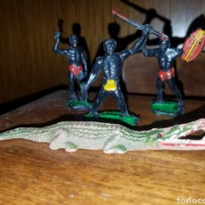 Figuras de Goma y PVC: LOTE DE 4 FIGURAS GOMA AÑOS 50 PECH ,REAMSA,JECSAN.. Lote 175137018