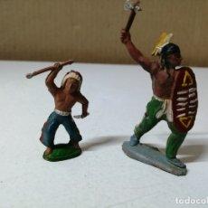 Figuras de Goma y PVC: LOTE DE DOS FIGURAS. COMANSI. REAMSA. JECSAN. AÑOS 60. GOMA. Lote 175187243