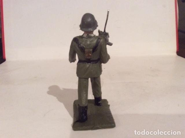Figuras de Goma y PVC: REAMSA, SOLDADO EJERCITO DE TIERRA, INFANTERIA, ANTIGUO Y POCO COMUN - FLA - Foto 3 - 175252414