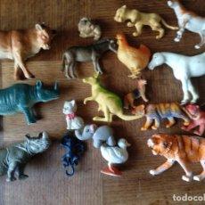 Figuras de Goma y PVC: ANIMALES 80'S - COLECCION LOTE DE 18 FIGURAS DE ANIMALES DE PVC -. Lote 175285144