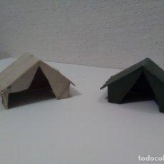 Figuras de Goma y PVC: 2 TIENDAS DE CAMPAÑA DE JECSAN. Lote 175325370