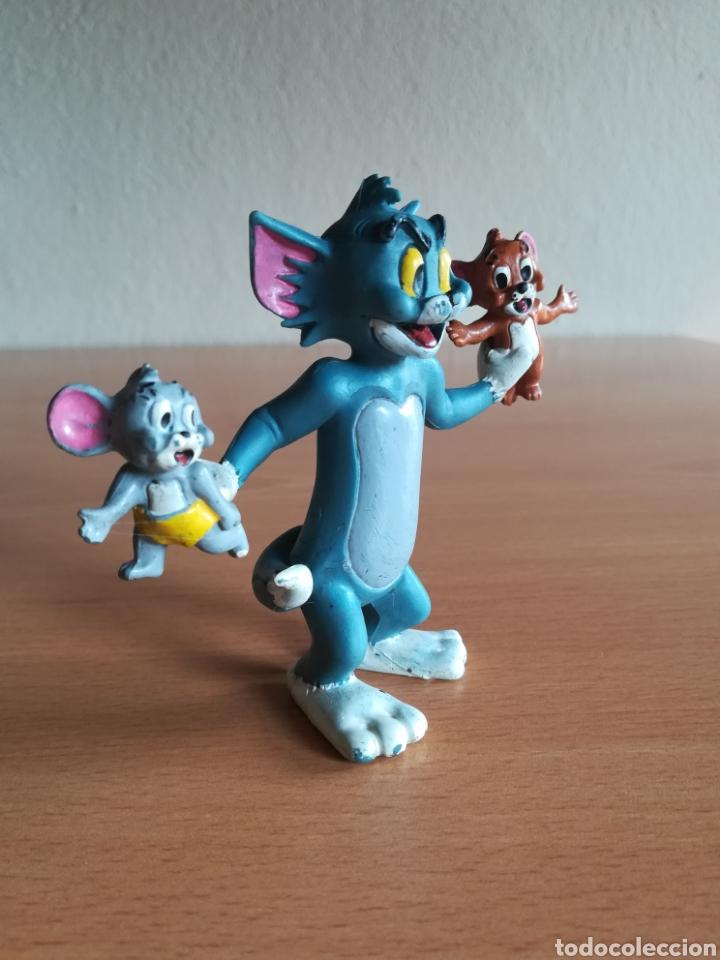 Figuras de Goma y PVC: Figura pvc goma Tom y Jerry + bebé Comics Spain año 1986 - Gato Ratón - Foto 2 - 175339557