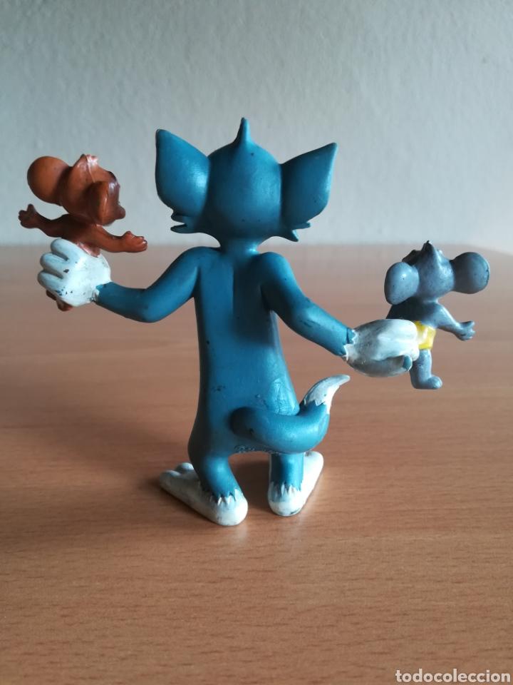 Figuras de Goma y PVC: Figura pvc goma Tom y Jerry + bebé Comics Spain año 1986 - Gato Ratón - Foto 5 - 175339557
