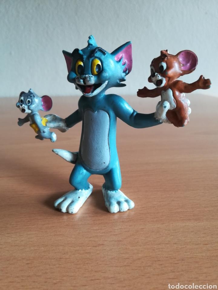 Figuras de Goma y PVC: Figura pvc goma Tom y Jerry + bebé Comics Spain año 1986 - Gato Ratón - Foto 9 - 175339557
