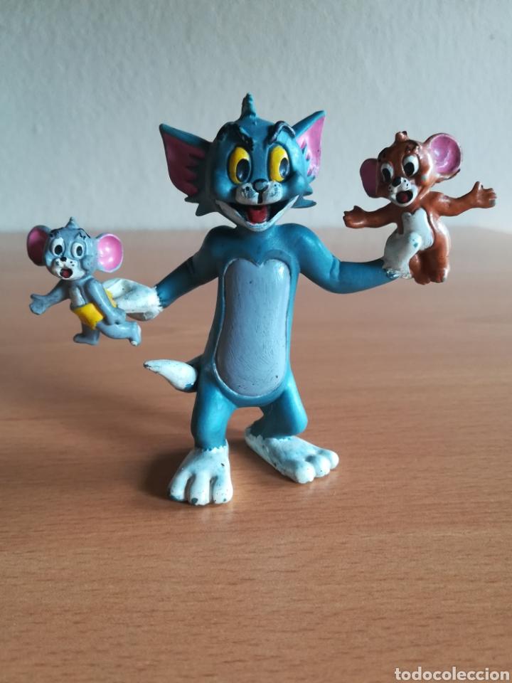 Figuras de Goma y PVC: Figura pvc goma Tom y Jerry + bebé Comics Spain año 1986 - Gato Ratón - Foto 10 - 175339557