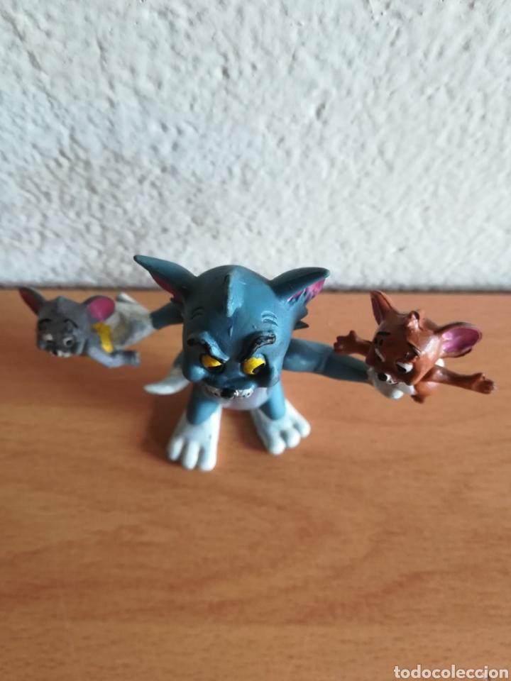 Figuras de Goma y PVC: Figura pvc goma Tom y Jerry + bebé Comics Spain año 1986 - Gato Ratón - Foto 11 - 175339557