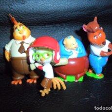 Figuras Kinder: LITTLE CHICKEN - COLECCION LOTE DE 4 FIGURAS KINDER -. Lote 175433759