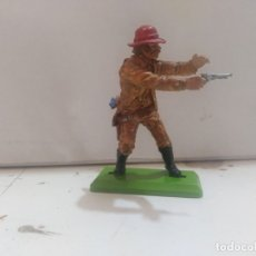 Figuras de Borracha e PVC: FIGURA DE GOMA BRITAIN'S DEETEIL 1971VAQUEROS INDIOS OESTE FART WEST . Lote 175448553