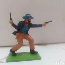 Figurines en Caoutchouc et PVC: FIGURA DE GOMA BRITAIN'S DEETEIL 1971VAQUEROS INDIOS OESTE FART WEST . Lote 175448878