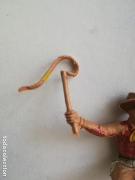 Figuras de Goma y PVC: COMANSI FIGURA VAQUERO CONDUCTOR CARRETA CARROMATO CARAVANA - Foto 3 - 175451093
