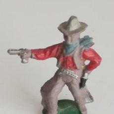 Figuras de Goma y PVC: LAFREDO PEQUEÑA FIGURA VAQUERO COWBOY DE GOMA. Lote 175452025
