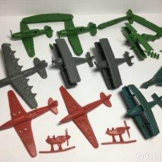 Figuras de Goma y PVC: LOTE AVIONES DE MONTAPLEX. Lote 175456917