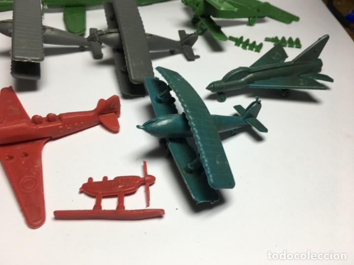 Figuras de Goma y PVC: LOTE AVIONES DE MONTAPLEX - Foto 3 - 175456917
