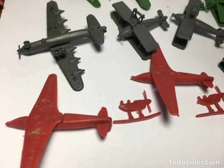 Figuras de Goma y PVC: LOTE AVIONES DE MONTAPLEX - Foto 6 - 175456917