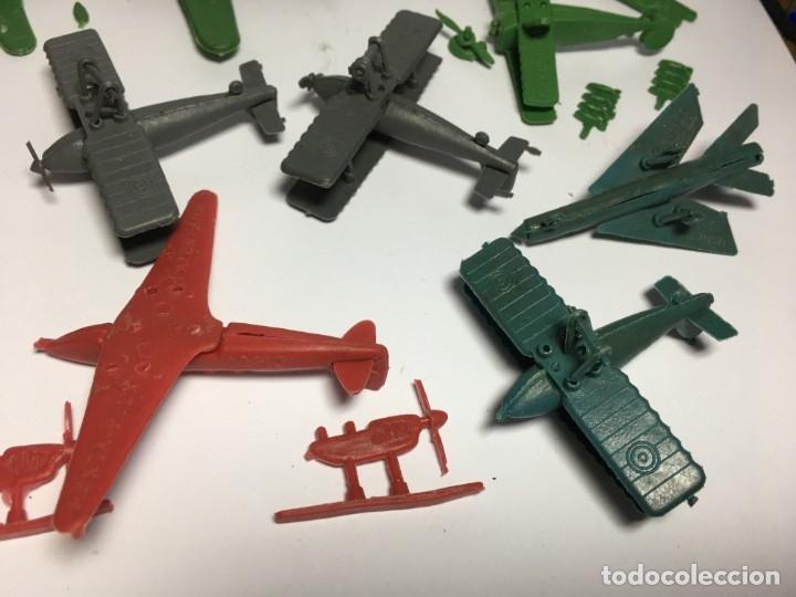 Figuras de Goma y PVC: LOTE AVIONES DE MONTAPLEX - Foto 7 - 175456917