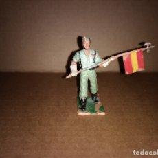 Figuras de Goma y PVC: FIGURA DE PLASTICO LEGIONARIO, LEGION, ABANDERADO REAMSA ORIGINAL AÑO 1970. Lote 175460399