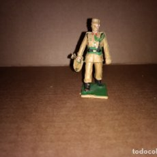 Figuras de Goma y PVC: FIGURA DE PLASTICO REGULARES , TROMPETA REAMSA ORIGINAL AÑO 1970. Lote 175460610