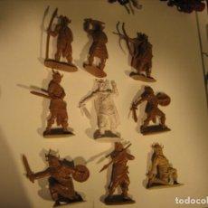 Figuras de Goma y PVC: FIGURAS JECSAN, COMANSI, PECH, LAFREDO, REAMSA, BRITAINS TOY SOLDIERS.. Lote 175463975