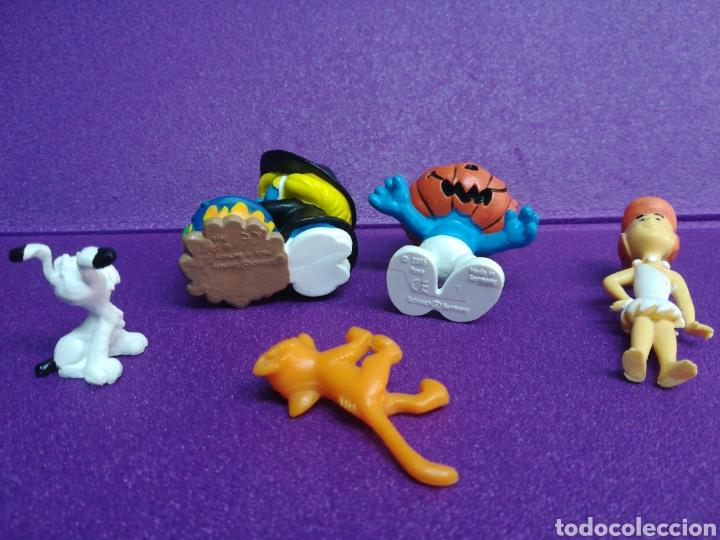 Figuras de Goma y PVC: Lote pitufos Azrael Idefix Picapiedra 20547 20548 figuritas pvc - Foto 4 - 175480820