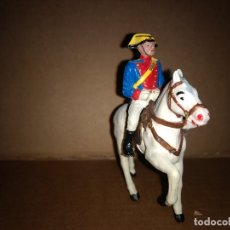 Figuras de Goma y PVC: REAMSA GOMARSA GUARDIA CIVIL A CABALLO CON TRAJE DE GALA AÑOS 60 EN GOMA , BUEN ESTADO. Lote 175513327