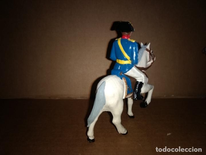 Figuras de Goma y PVC: REAMSA GOMARSA GUARDIA CIVIL A CABALLO CON TRAJE DE GALA AÑOS 60 EN GOMA , BUEN ESTADO - Foto 2 - 175513327