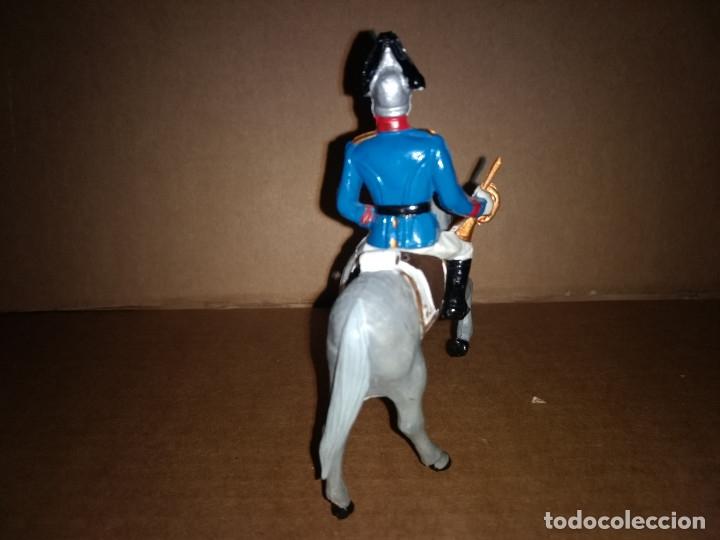 Figuras de Goma y PVC: REAMSA GOMARSA DESFILE GUARDIA REAL DRAGON AÑOS 60 EN GOMA , BUEN ESTADO - Foto 2 - 175513834