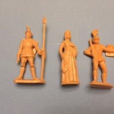 Figuras de Goma y PVC: REAMSA GOMARSA JECSAN MEDIEVALES 3. Lote 175544807