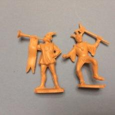Figuras de Goma y PVC: REAMSA Y GOMARSA JECSAN MEDIEVALES 4. Lote 175545032