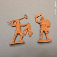 Figuras de Goma y PVC: REAMSA JECSAN GOMARSA ROMANOS GLADIADORES 1. Lote 175545204