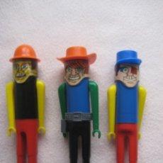 Figuras de Goma y PVC: LOTE MUÑECOS. CHICOS DE DUNKIN. AÑOS 70. Lote 175607865