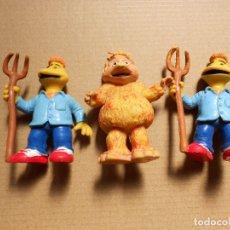 Figuras de Goma y PVC: LOTE 3 FIGURAS PVC. LOS MUNDOS DE YUPI. TVE 88. COMICS SPAIN. Lote 175637974