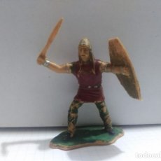 Figuras de Goma y PVC: FIGURA PVC REAMSA SERIE HERNAN CORTES AZTECA . Lote 175675584
